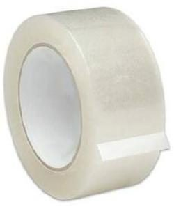TAPE 2 X 55YD (CLEAR ROLL)