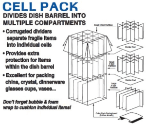 CELL KIT (INSERT) FOR 5.0 DISH BARREL (BUNDLE OF 5)