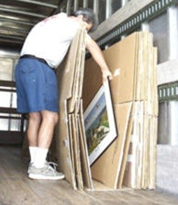 Third step of moving procedure with Pro Movers Inc.