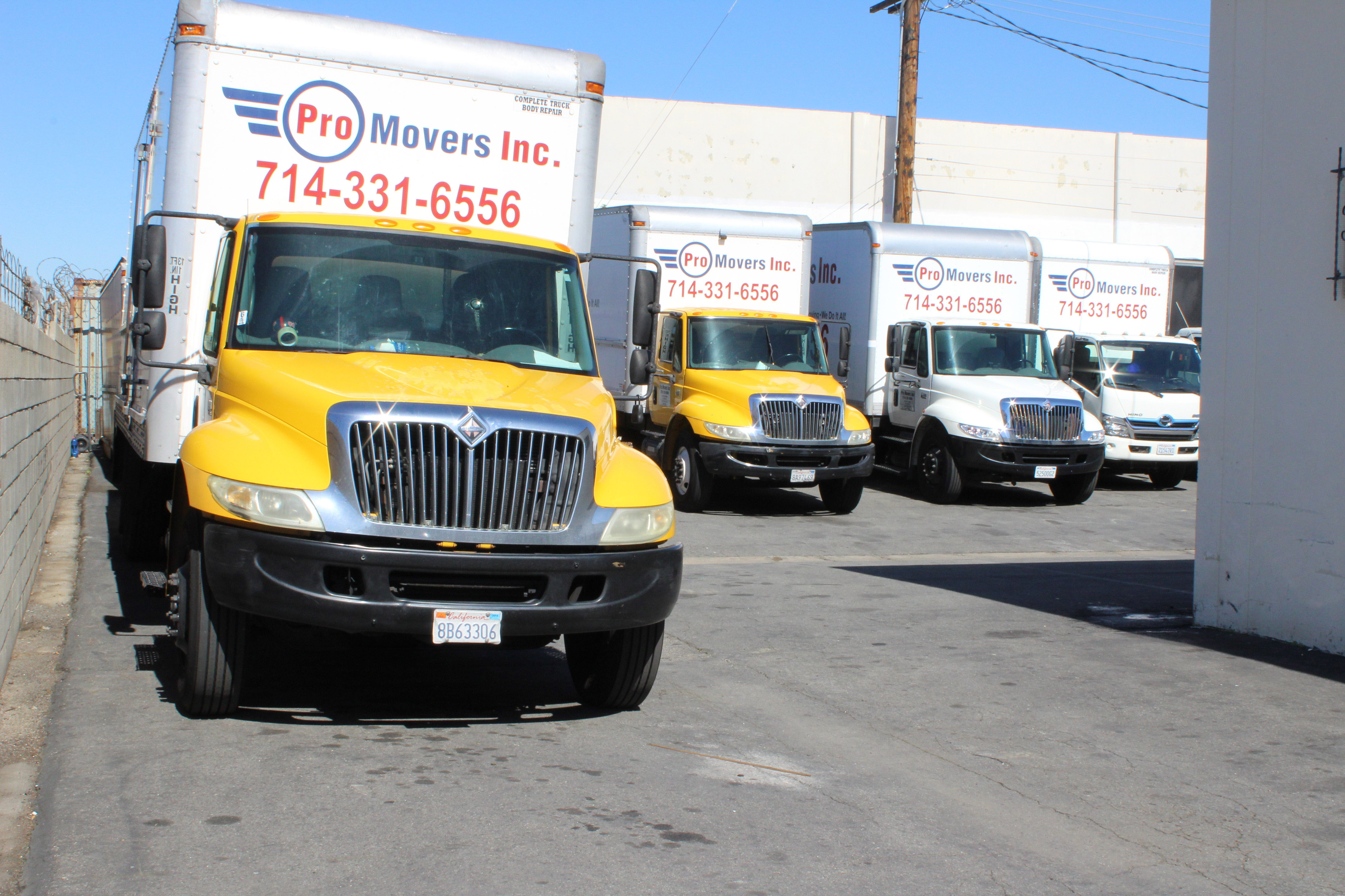 We own twelve trucks to provide you with the best moving experience.