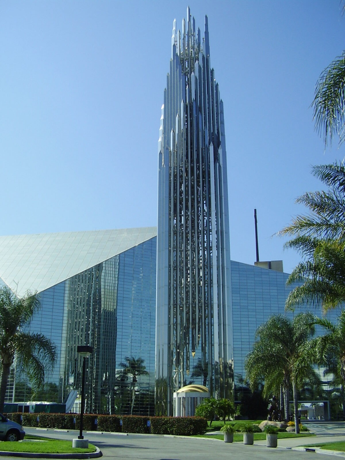 Crystal Cathedral is the most notable place in Garden Grove.