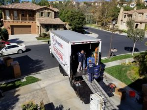 Relocation to Lake Forest will be easy and stressless with our insured moving company.