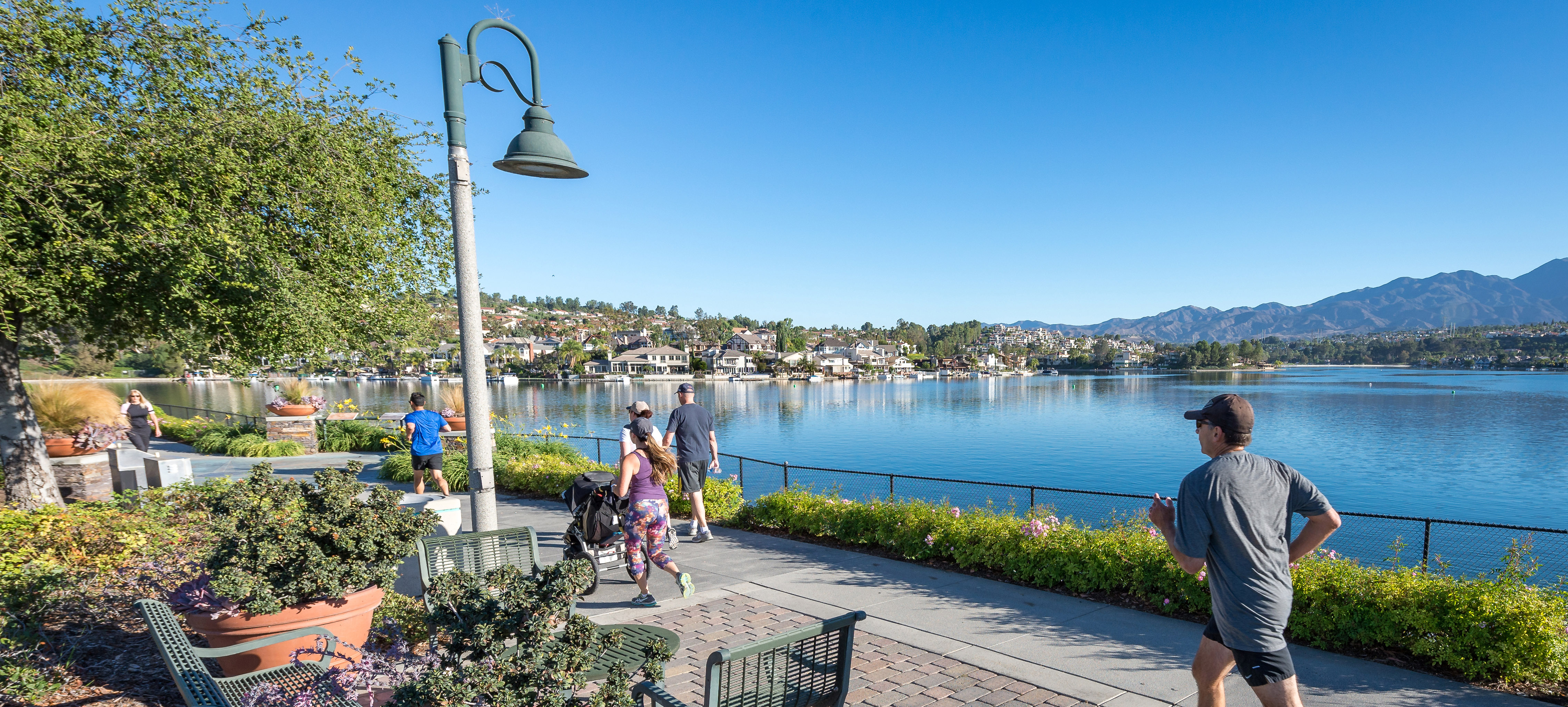 If you have pets and have an active lifestyle you'll love Mission Viejo.