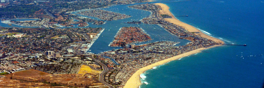 Surfers like Newport Beach for its amazing atmosphere.