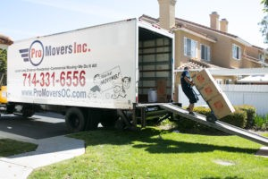 Pro Movers in Laguna Niguel offers full package of moving services.