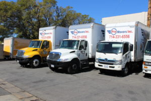 Our moving company has its own truck park to provide you with the best relocation experience.