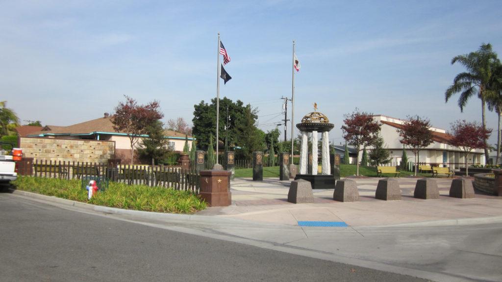 Veterans Memorial Park, Stanton, California.