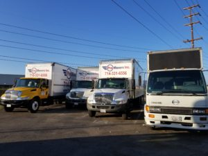 Westminster Moving Company, with its own truck park, will handle your belongings to another place.