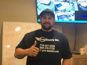 Our Customer Service Manager Davin.