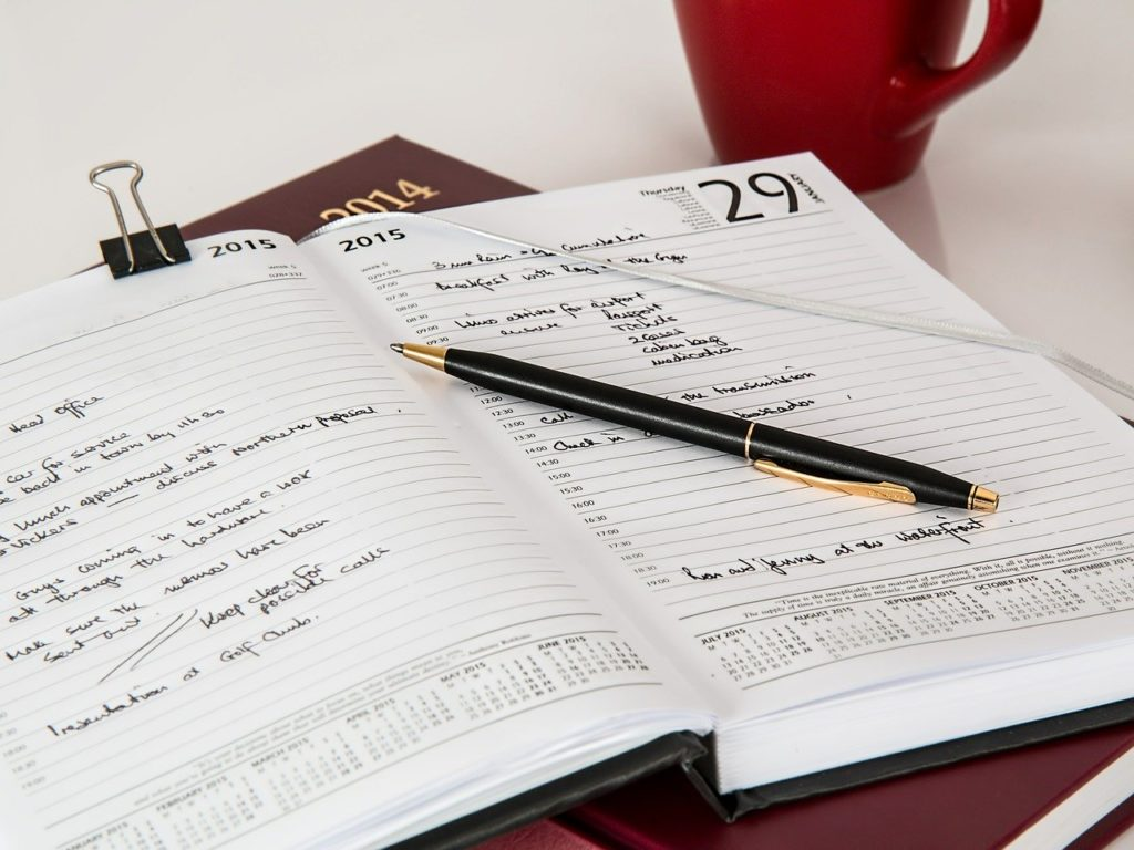 Create a decent schedule for your moving.
