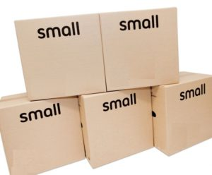 SMALL MOVING BOX 16INx12INx12IN